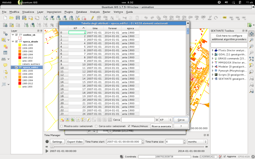 QGIS | time manager (2/5)
